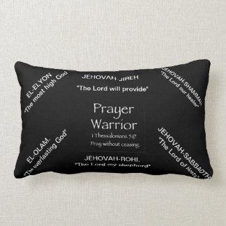prayer warrior throw pillow