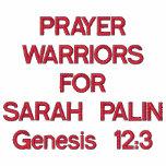 PRAYER WARRIORSFORSARAH PALINGenesis 12:3