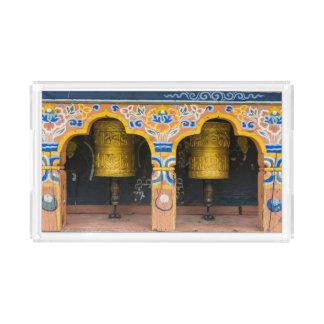 Prayer Wheels Acrylic Tray