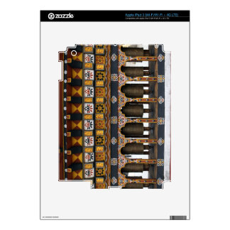 Prayer Wheels in a small public square iPad 3 Decal