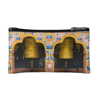 Prayer Wheels Makeup Bag