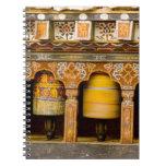 Prayer Wheels, Mani Wheel at Trongsa Dzong, Notebook
