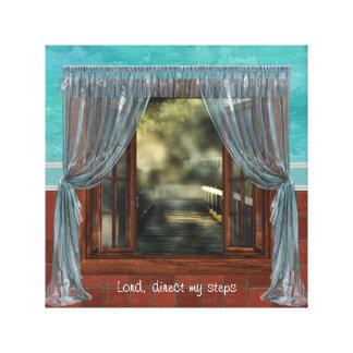 Prayer Window Canvas Print