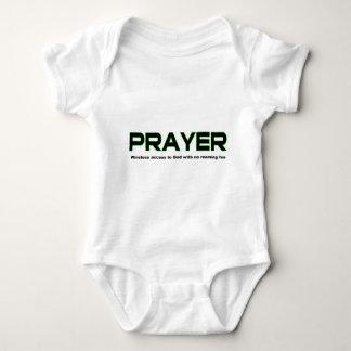 Prayer, wireless access to God christian gift Baby Bodysuit