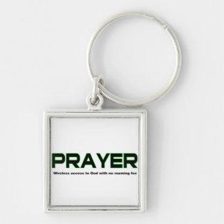 Prayer, wireless access to God christian gift Keychain