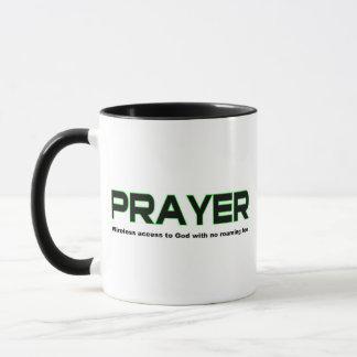 Prayer, wireless access to God christian gift Mug