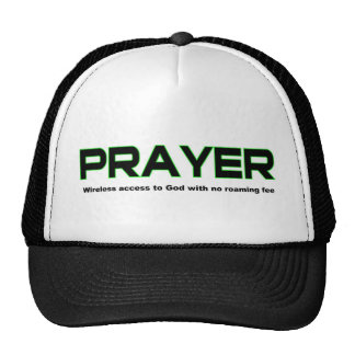 Prayer, wireless access to God christian gift Trucker Hat