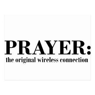 prayer_wireless_blk tarjetas postales