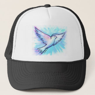 Prayer Works Dove Trucker Hat