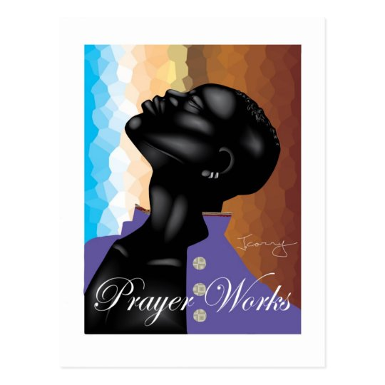 Prayer Works Postcard