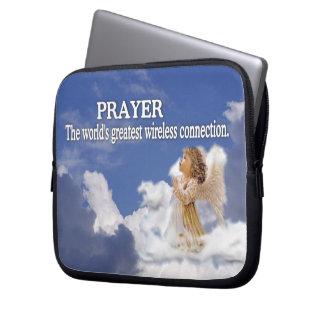 Prayer Worlds Greatest Wireless Connection #2 Laptop Sleeve