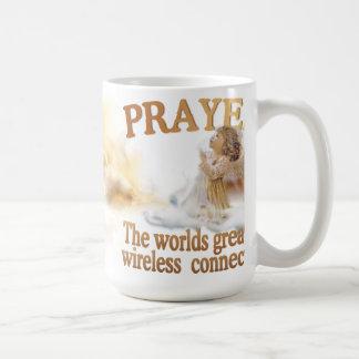 Prayer Worlds Greatest Wireless Connection #3 Coffee Mug