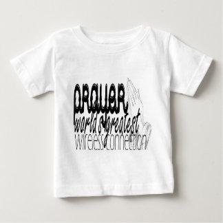 Prayer- World's Greatest Wireless Connection Baby T-Shirt