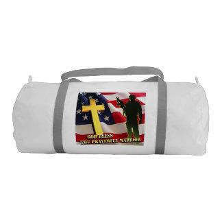 Prayerful Warrior Gym Bag