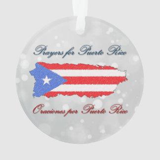 Prayers for Puerto Rico Ornament