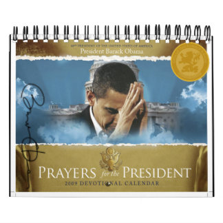 Prayers for the President Calendar (Official)