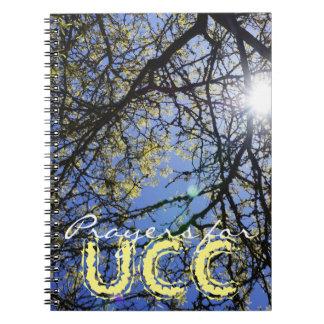 Prayers for UCC notebooks Pray Praying UCC