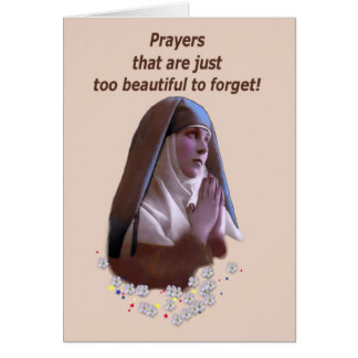 Prayers too Beautiful to forget Card