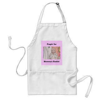 Prayin' for Momma's Cookin' Adult Apron