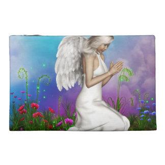 Praying Angel Travel Accessory Bag