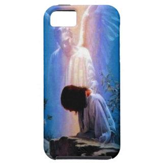 Praying Angel case Mate Tough 4 iPhone Case