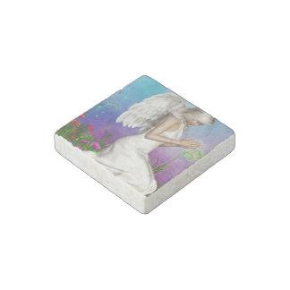 Praying Angel Stone Magnet