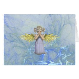Praying Angel Greeting Card