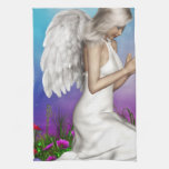 Praying Angel Kitchen Towels