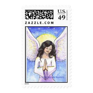 praying angel stamps