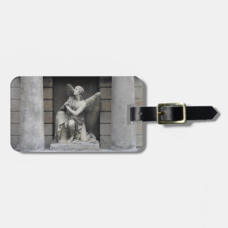 Praying Angel Sculpture Luggage Tag