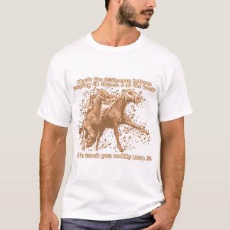 Praying at horse races T-Shirt