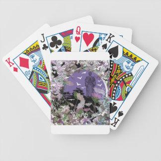 Praying Bicycle Playing Cards