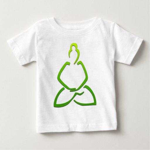 Praying Buddha Baby T-Shirt