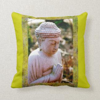 Praying Buddha - Digital Art Pillow