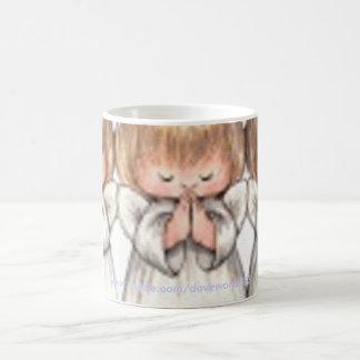 Praying Christmas Angel Mug