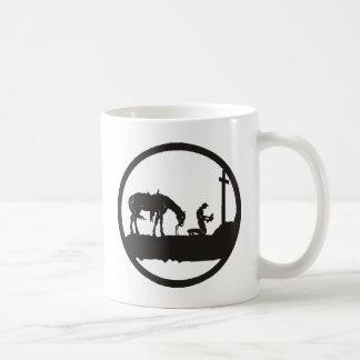 praying cowboy coffee mug