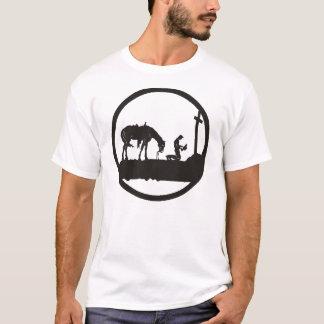 praying cowboy T-Shirt
