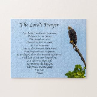 Praying Eagle Jigsaw Puzzle