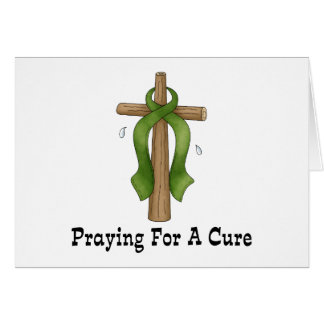 Praying For A Cure Greeting Card