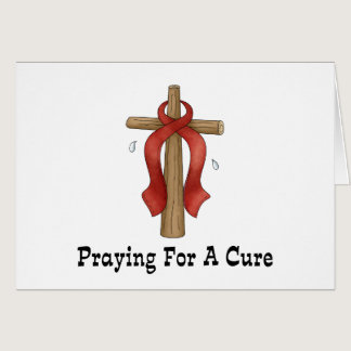 Praying For A Cure Card