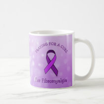 Praying for a Cure Fibromyalgia Mug