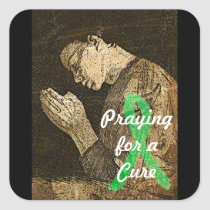 Praying for a Cure for Lyme Disease Sticker