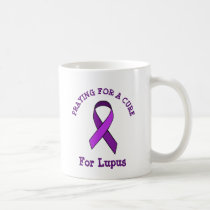 Praying for a Cure Lupus Mug