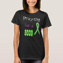 Praying for a Cure, Lyme Disease Awareness Shirt