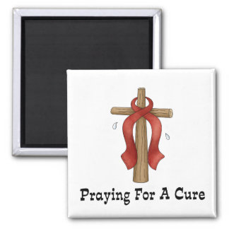 Praying For A Cure Refrigerator Magnet