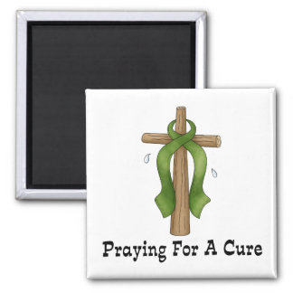 Praying For A Cure Refrigerator Magnets