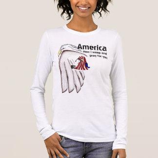 Praying for America Long Sleeve T-Shirt