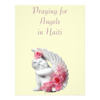 Praying for Angels in Haiti Full Color Flyer
