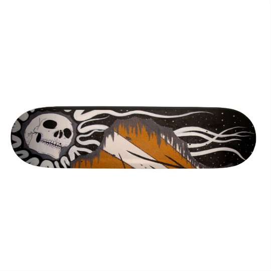 Praying-For-Death Skateboard