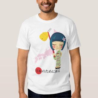 Praying for Japan T Shirt